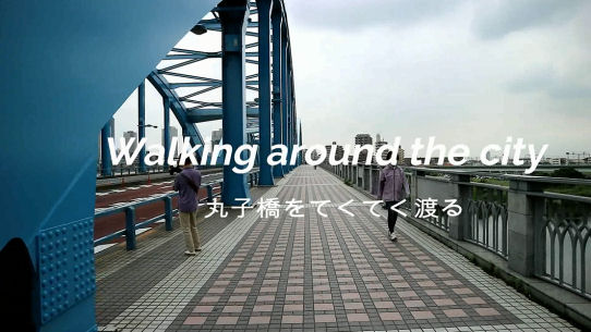 Walking around the city 丸子橋.jpg